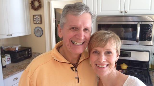 Harri und seine Ehefrau Heidi.