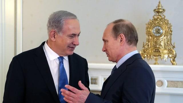 Netanjahu und Putin.