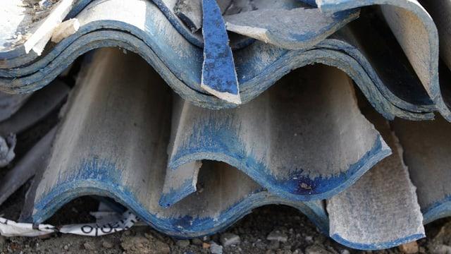 Asbest-Platten