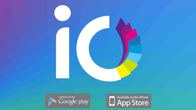 Das Bild zeigt das Logo des neuen Dienstes von Swisscom «iO»