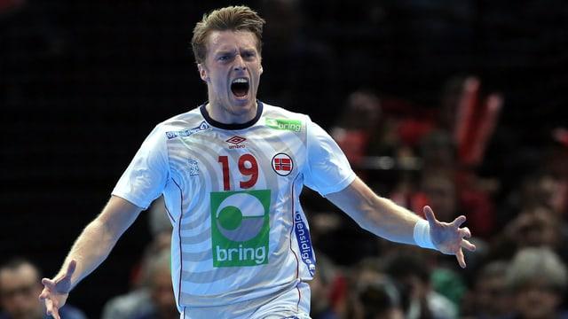 Norwegens Kristian Bjornsen.
