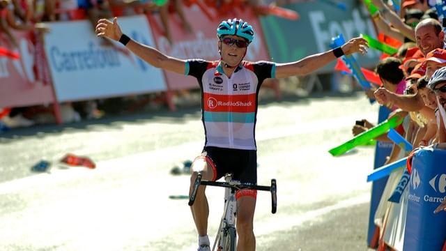 Chris Horner kann auch mit 41 Jahren noch Etappen gewinnen.