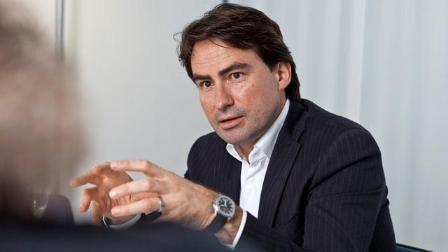 Christoph Bauer CEO AZ Medien Gruppe bis Ende 2012