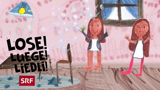 Video ««Lose! Luege! Liedli!»: In Muetters Stübeli» abspielen