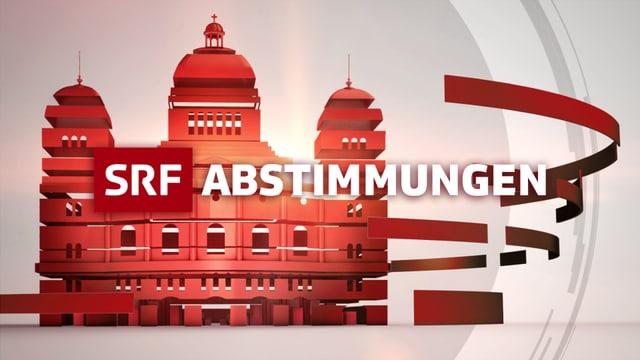 Logo des SRF-Abstimmungsstudios.