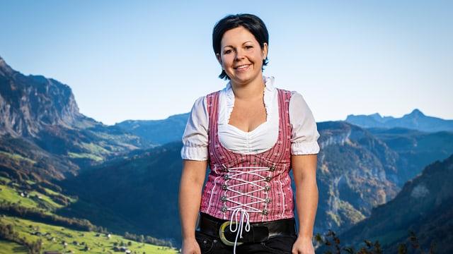 Video ««SRF bi de Lüt – Landfrauenküche»: Yvonne Heinzer (SZ)» abspielen