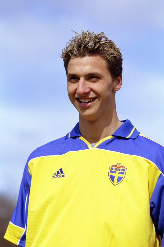 Ibrahimovic im Jahr 2001.