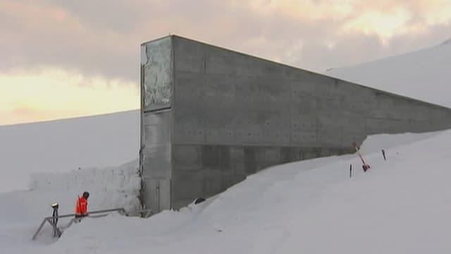Samenbunker «Global Seed Vauld» in Spitzbergen.