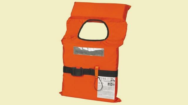 orange Rettungsweste