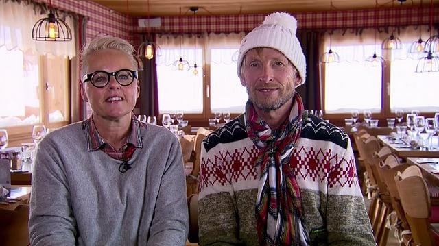 Video «Skihütten-Spezial – Tag 2 – Hörnlihütte, Arosa» abspielen