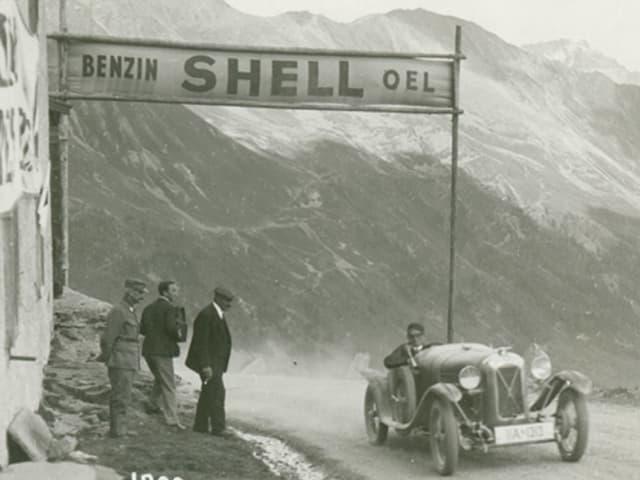 Fotografia da l'emna d'automobilitad San Murezzan 1929/1930
