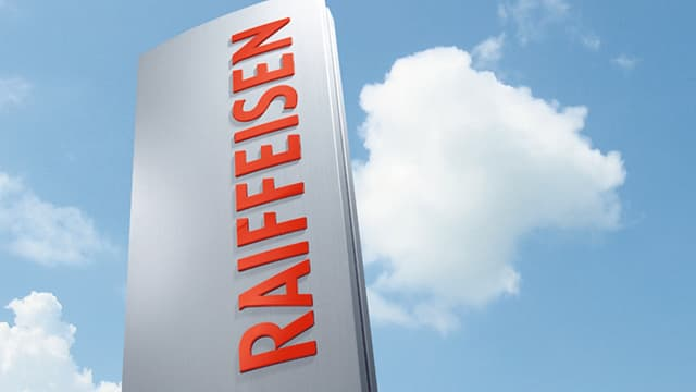 Il logo da la Banca Raiffeisen.
