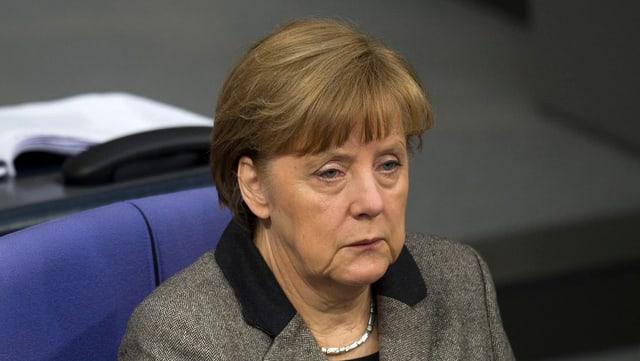 La chanceliera tudestga Angela Merkel è consternada davart ils fatgs en connex cun la disgrazia d'aviun.