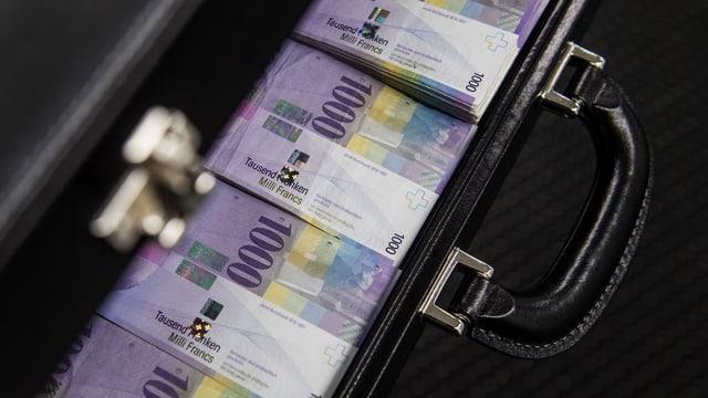 1000er Banknote Schweiz