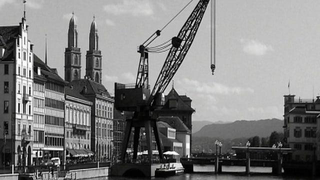 Video «Best of «Sternstunden»: Kann ein Hafenkran Kunst sein?» abspielen