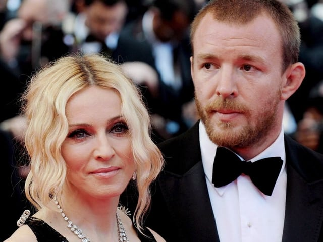 Madonna und Guy Ritchie.