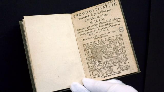 Buch aus dem 16. Jahrhundert