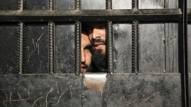 Inhaftierte Taliban-Kämpfer in Jalalab, 2020.
