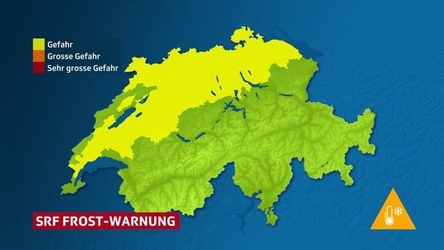 SRF Frost-Warnung