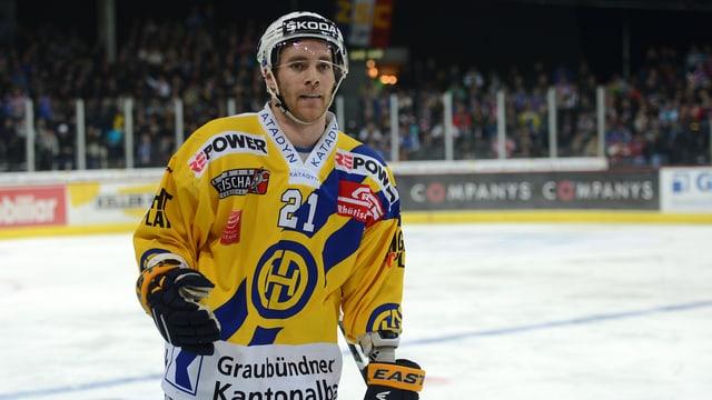 Janick Steinmann verlässt den HC Davos in Richtung Kloten.
