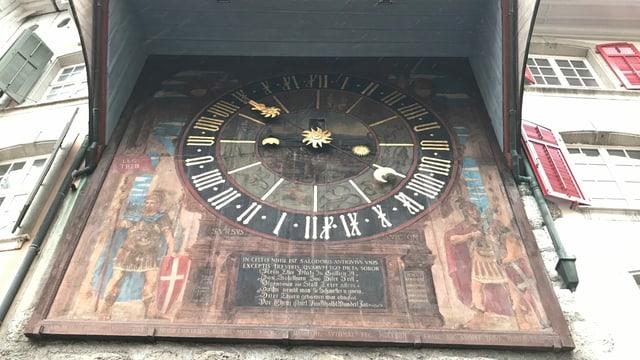 Historische astronomische Uhr