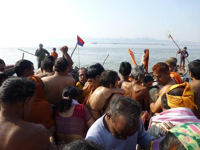 Die rituellen Waschungen werden alle paar Jahre an einem von vier Orten in Indien durchgeführt.