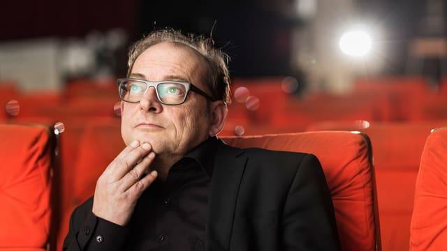 Ivo Kummer im Kinosaal