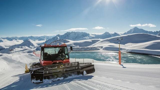 Territori da skis da Samignun.