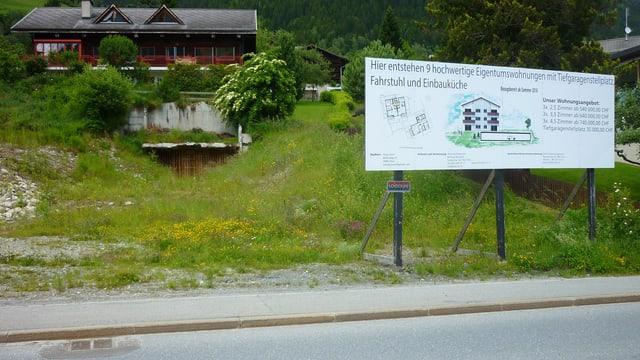 Il project da Jörg Löser a Rabius.