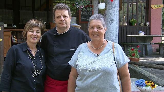 Video «Kanton Tessin – Tag 3 – Grotto Brunoni da Regis, Golino (WH)» abspielen