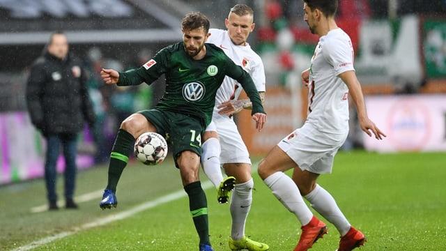 Mehmedi im Spiel gegen Augsburg.