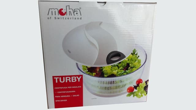 Verpackung Moha-Salatschleuder
