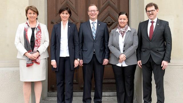 Die Thurgauer Regierung