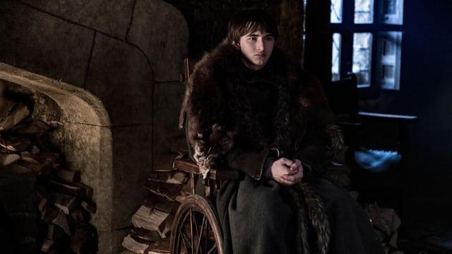 Junger MAnn in Rollstuhl