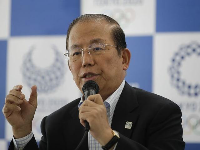 Toshiro Muto, Geschäftsführer des Organisationskomitees.