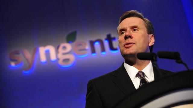 Mike Mack, schef da Syngenta