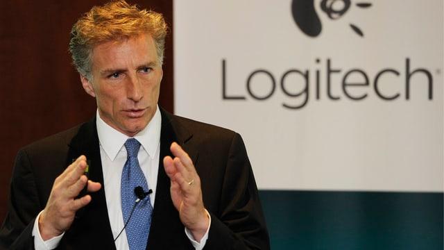 Logitech-Konzernchef Bracken Darrell.