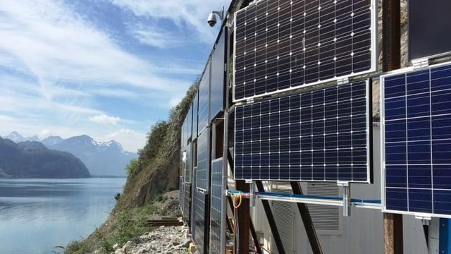Solaranlage am Walensee