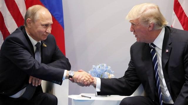 Putin e Trump dattan il maun.