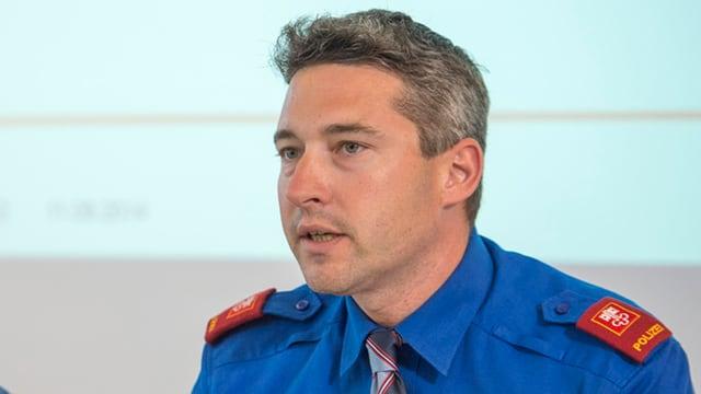 Jürg Wobmann wurde 2012 Chef der Kantonspolizei Nidwalden. Nun wechselt er nach Luzern.