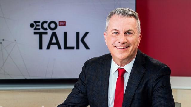 Reto Lipp, Moderator «ECO Talk»