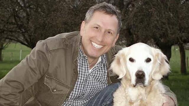 Bartl mit Hund