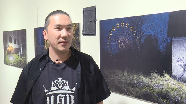 Laschar ir video «Bane - cun 40 kilos colur amez la citad bandunada»