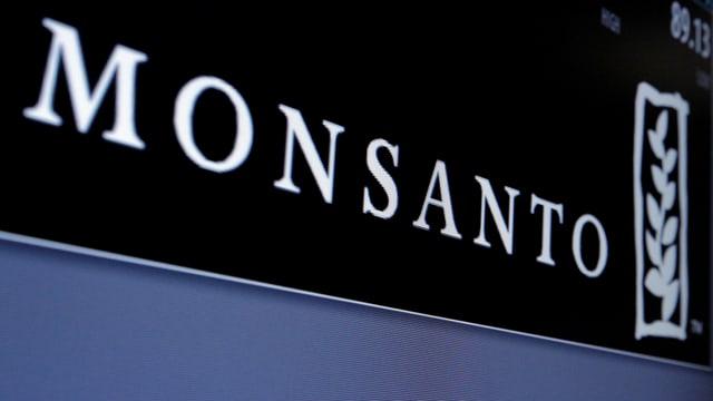 Firmenlogo von Monsanto.