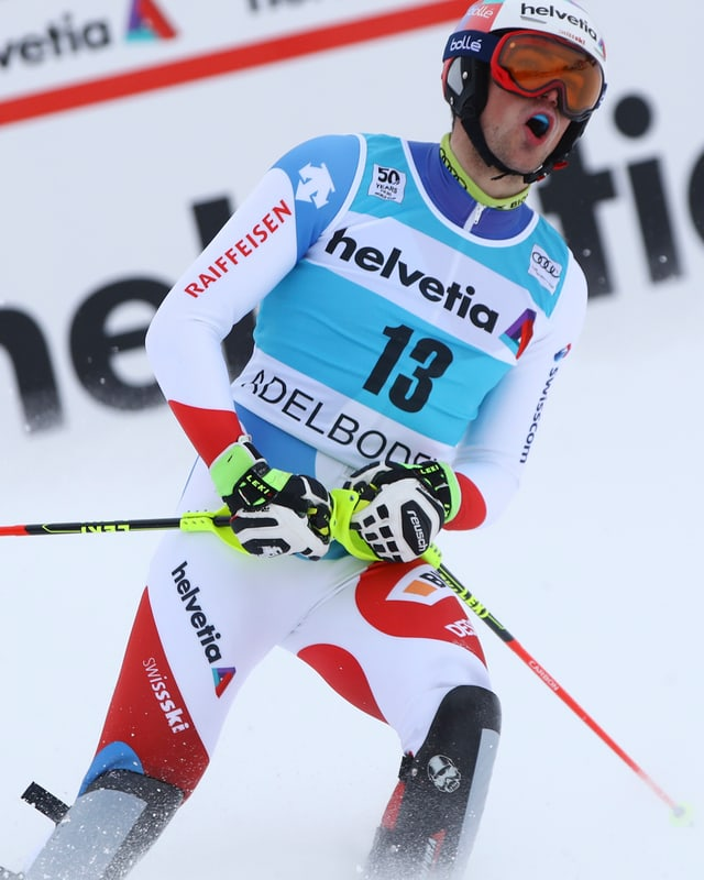 Il skiunz svizzer Daniel Yule.