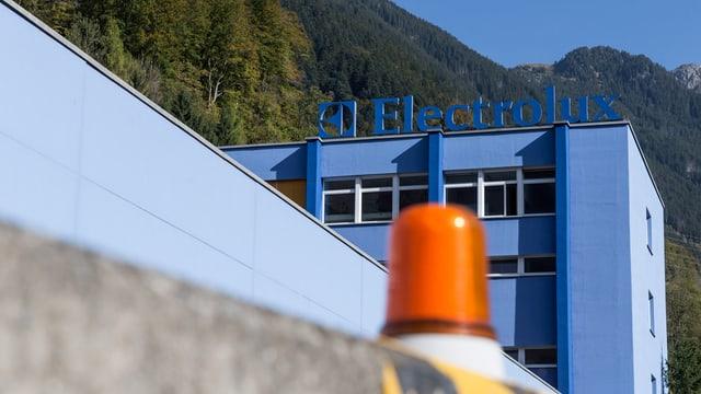 Firmenareal Electrolux in Schwanden GL.