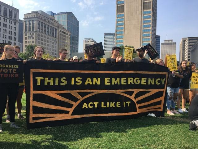 In Nashville trafen sich rund 150 Klima-Aktivistinnen und -Aktivisten.