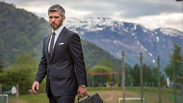 Serie mit gutaussehender Hauptfigur: Aksel Borgen in «Lifjord».