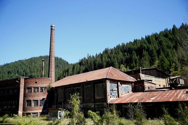 Industrieruine bei Vareš.