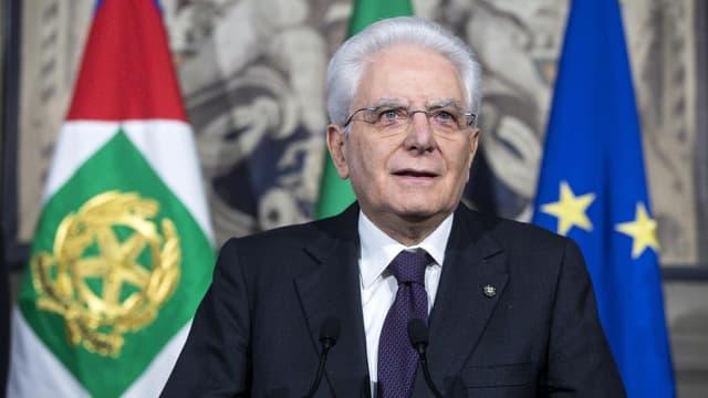 Sergio Mattarella, il president da l'Italia.